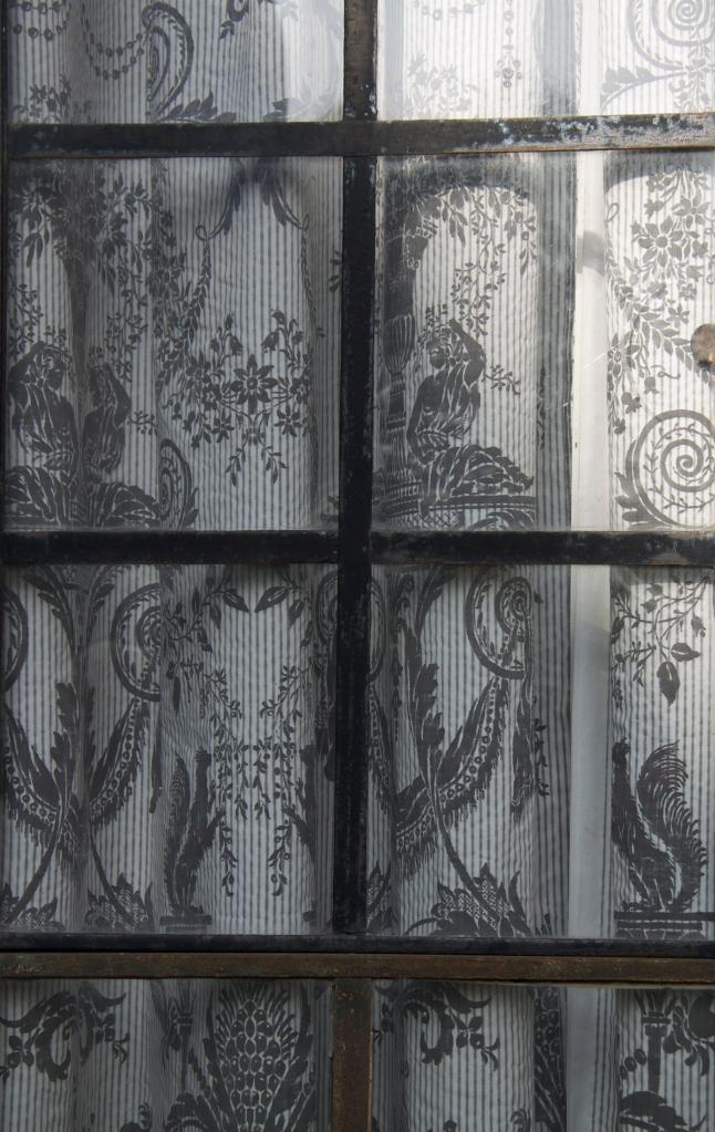 grey fabric iron
