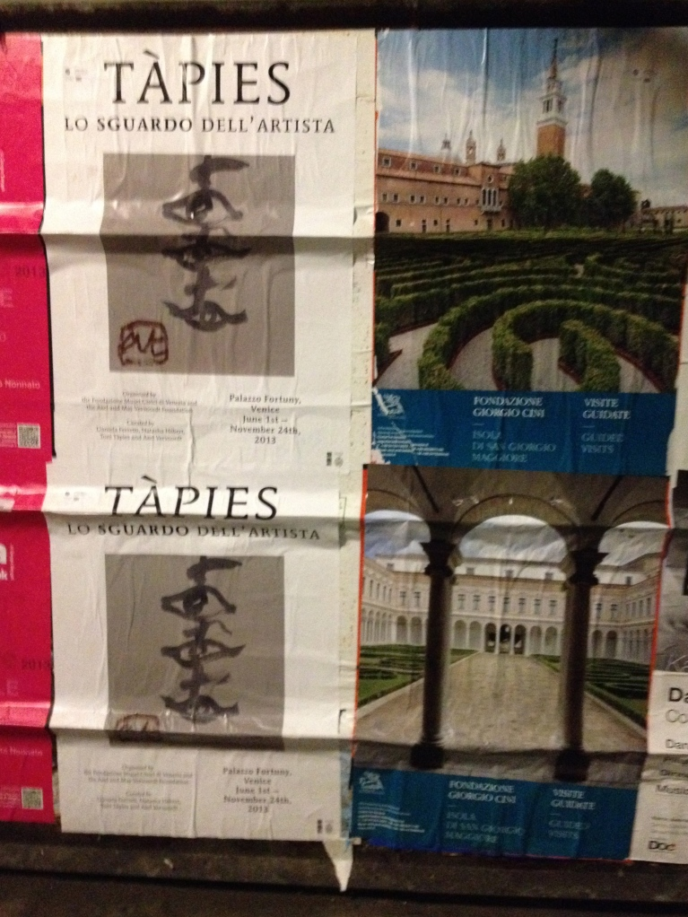 poster tapies