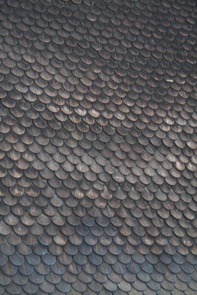 scalloped tiles