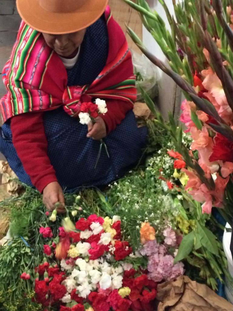 cusco flower market