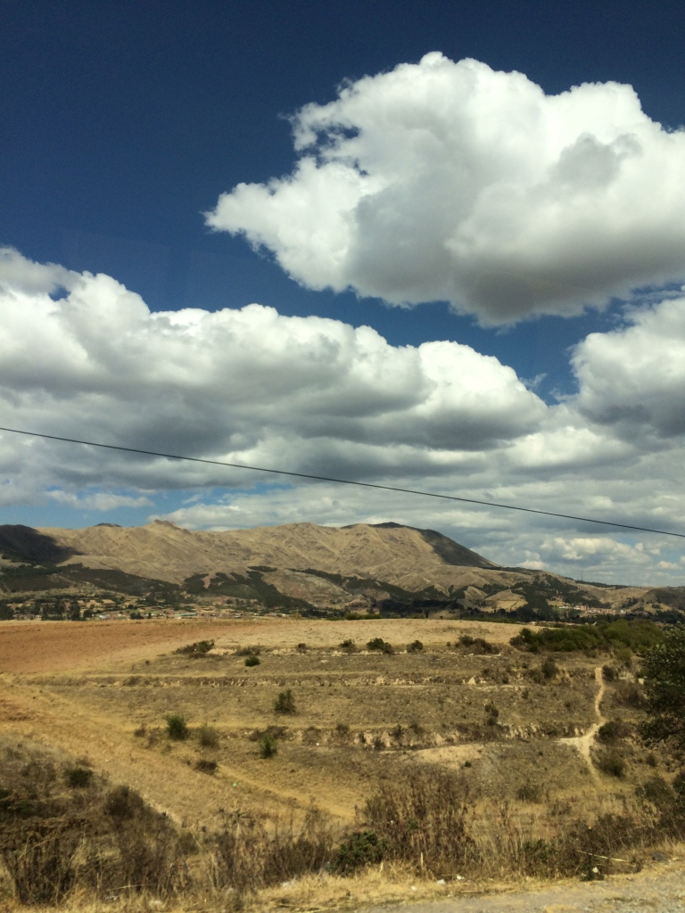 fab view from car to cusco