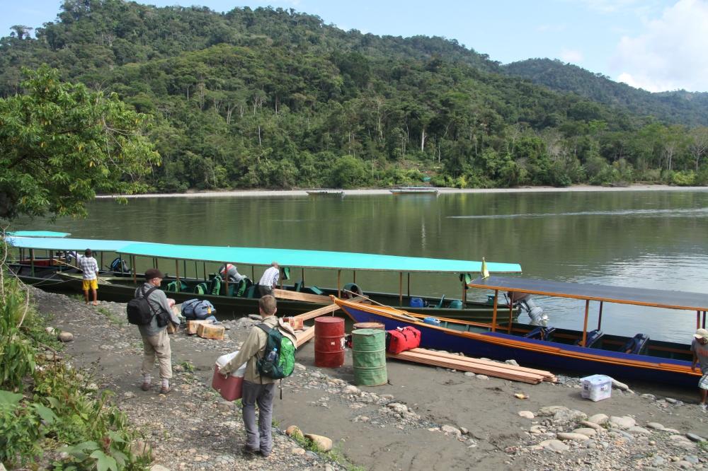 loading boat