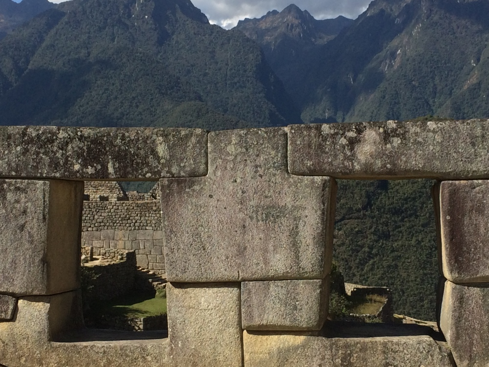machu pichu stone view
