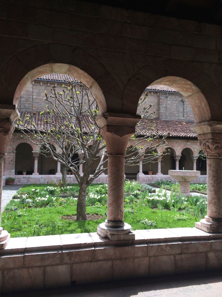 CLOISTER THRU ARCHES